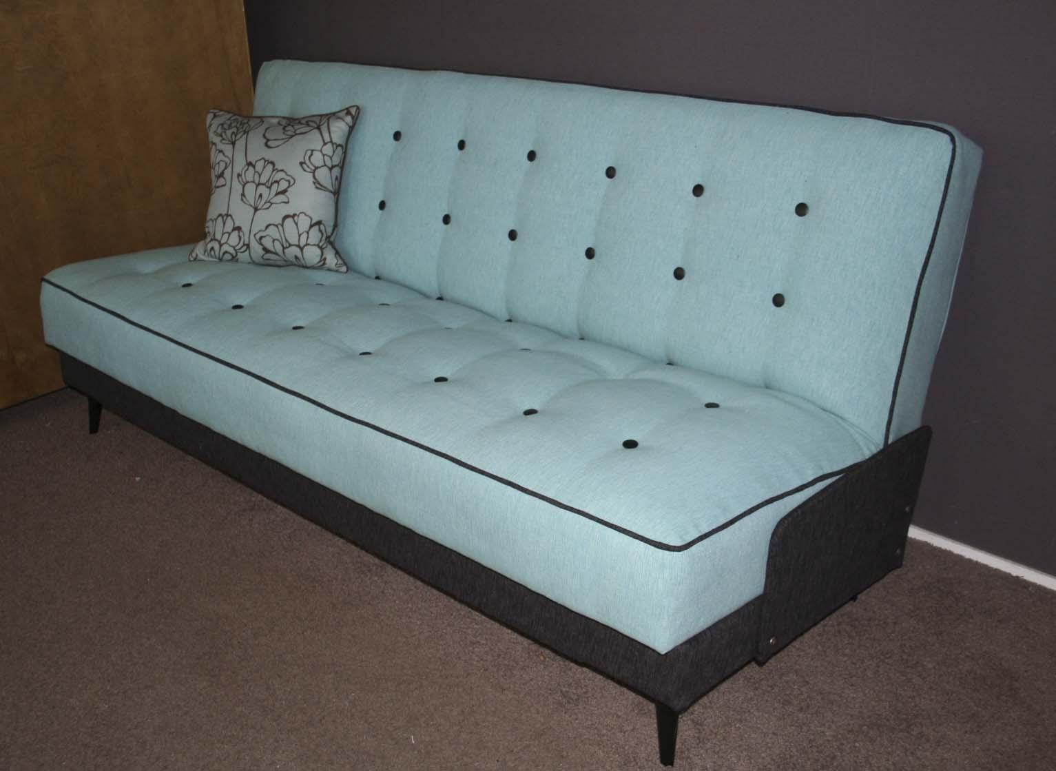 retro sofa bed 1950 s vintage teak sofa bed by ingmar relling retrospective thesofa