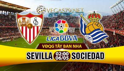 Nhận định, soi kèo nhà cái Sevilla vs Sociedad
