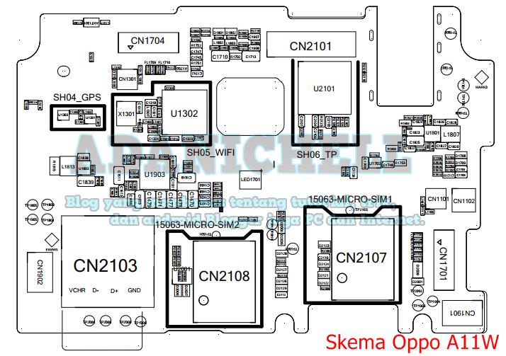 Download Skema Jalur Oppo A11W (Joy 3) PDF  ADANICHELL