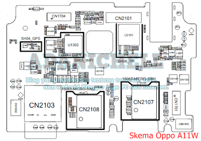 Download Skema Jalur Oppo A11W