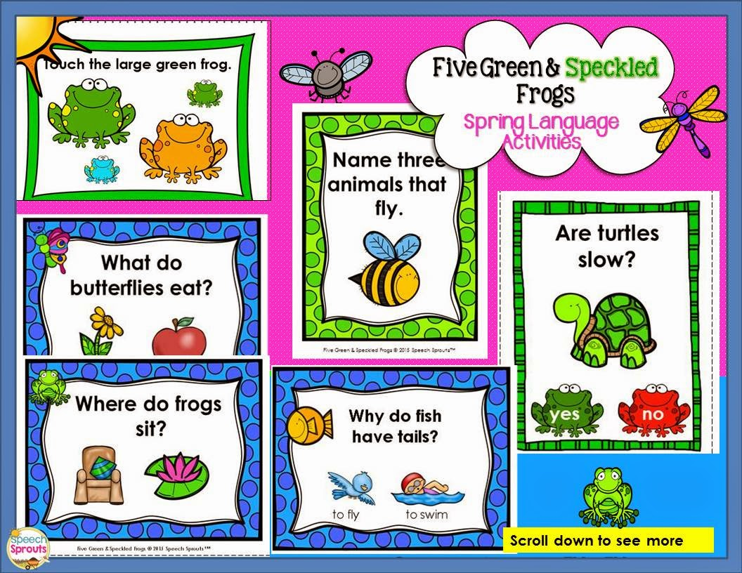 Speech Sprouts 11 Spring Speech Therapy Freebies You Won T Want To Miss