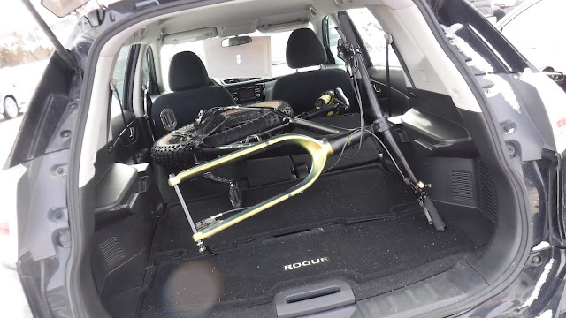 Fatbike Republic, fat bike, Newfoundland, Will my fat bike fit in a, Will my bike fit in a, fat bike in SUV, fatbike in SUV, Will my fat bike fit in a Nissan Rogue