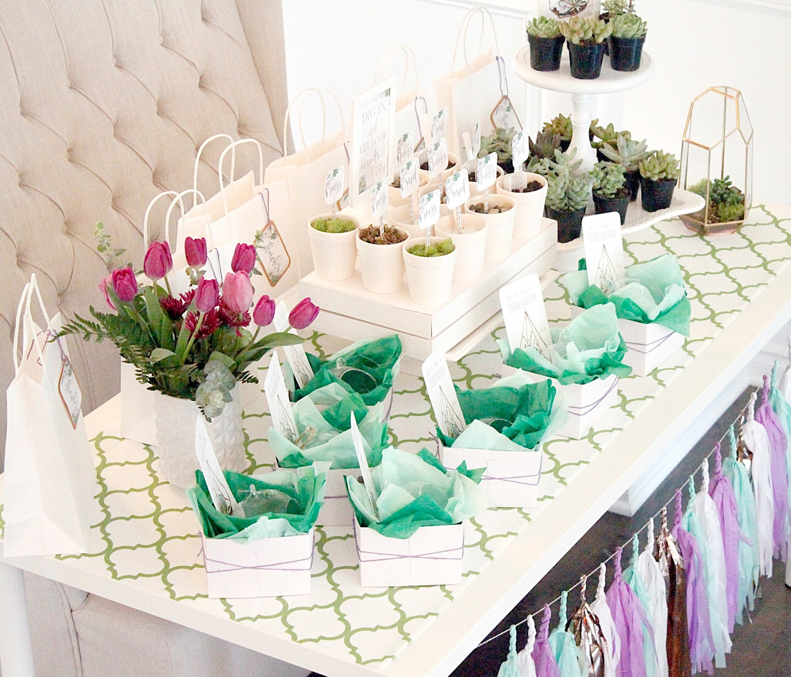 ... This Party Was A Must, As They Have So Many Supplies That I Needed To  Create The Most Adorable Terrariums, Plus Many More Wonderful Products As  Well.