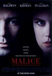 Watch Malice Online Free 1993 Putlocker