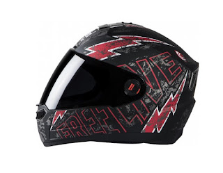 Steel Bird Air Free Live- Black & Red