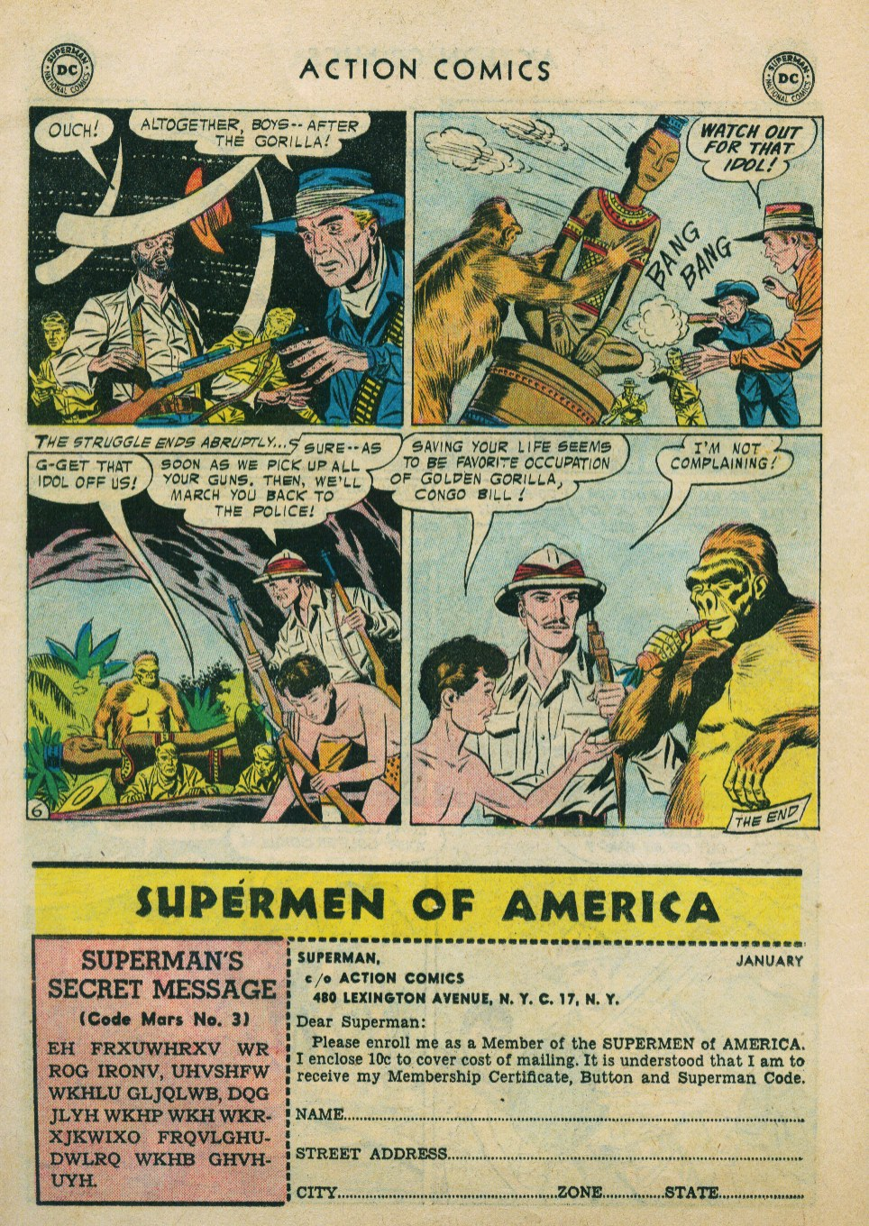 Read online Action Comics (1938) comic -  Issue #224 - 22