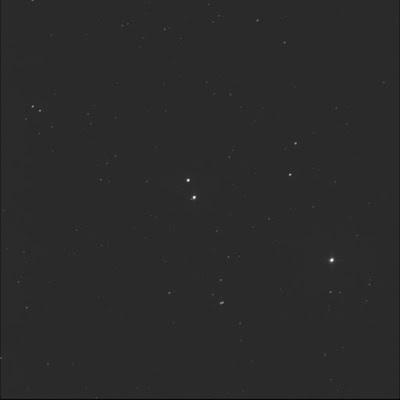 multi-star system HD 36073 in luminance