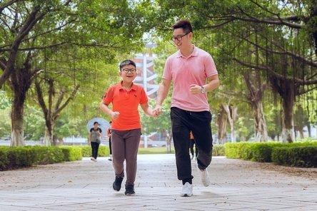 Jogging Ayah dan Anak