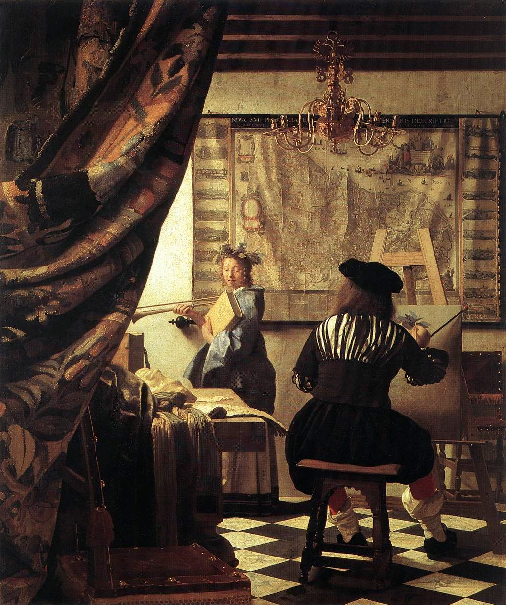 A Arte da Pintura - Vermeer, Jan e suas principais pinturas