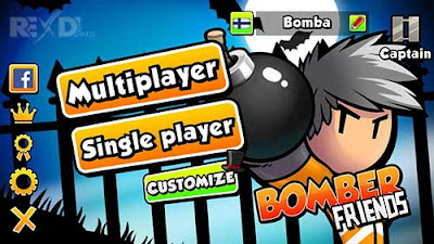 Bomber Friends v2.20 Mod Apk (Unlimited Money/ Coin+Unlock All Pack)