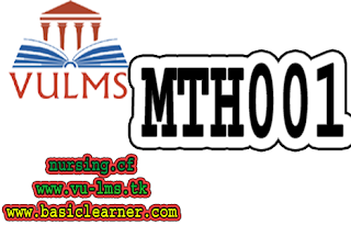 MTH001 midterm solved past paper megafile by reference