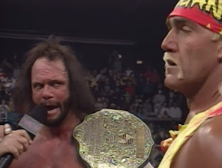 WCW Clash of the Champions XXXI - Hogan and Savage