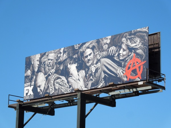 Sons of Anarchy season 6 billboard
