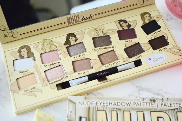 Nude'tude eyeshadow colour palette