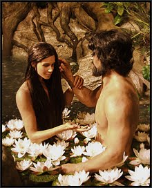 A Theme Park Adam and Eve