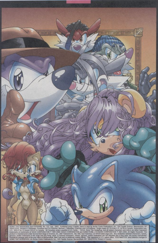Read online Sonic The Hedgehog comic -  Issue #123 - 2