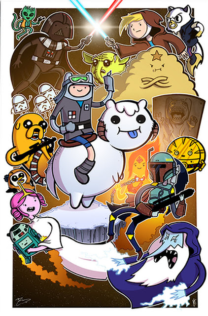 A Quiet Nerdy Thing : 30 Days of Star Wars: Adventure Time