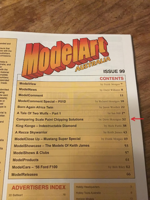 ModelArt Australia magazine article by Dave Hourigan