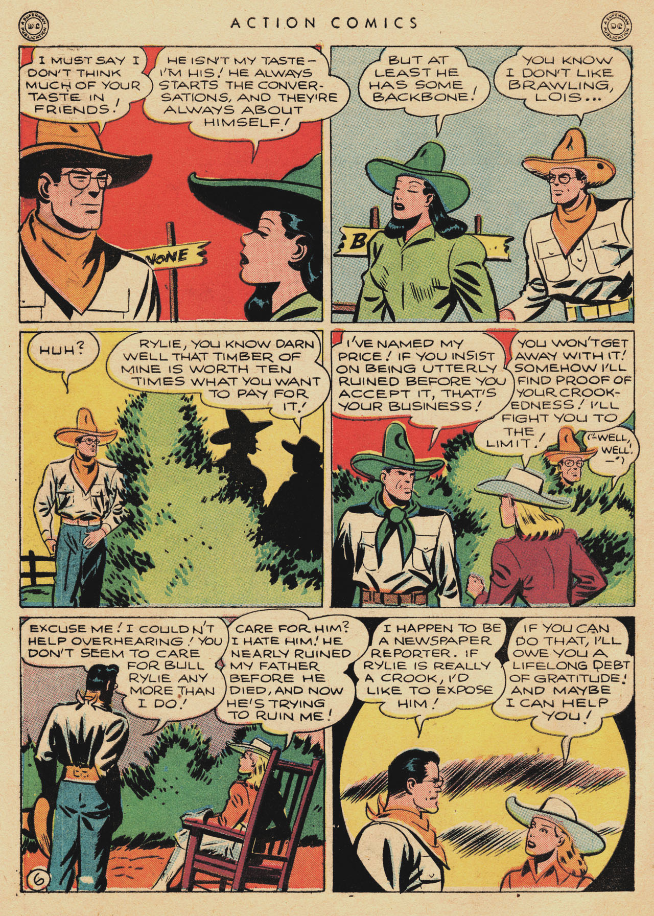Read online Action Comics (1938) comic -  Issue #94 - 8