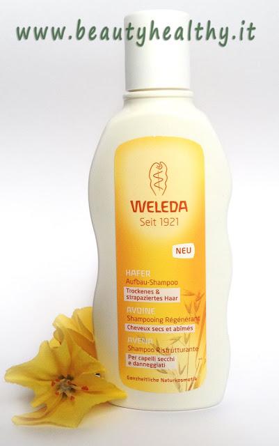 weleda shampoo  ristrutturante avena