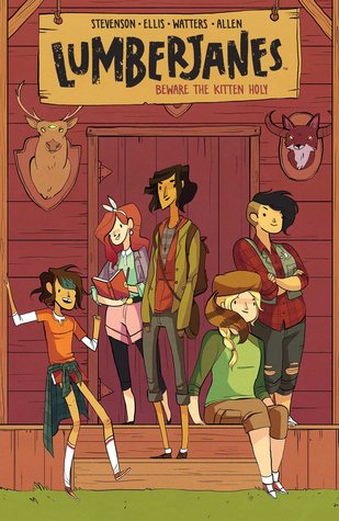 Lumberjanes book cover
