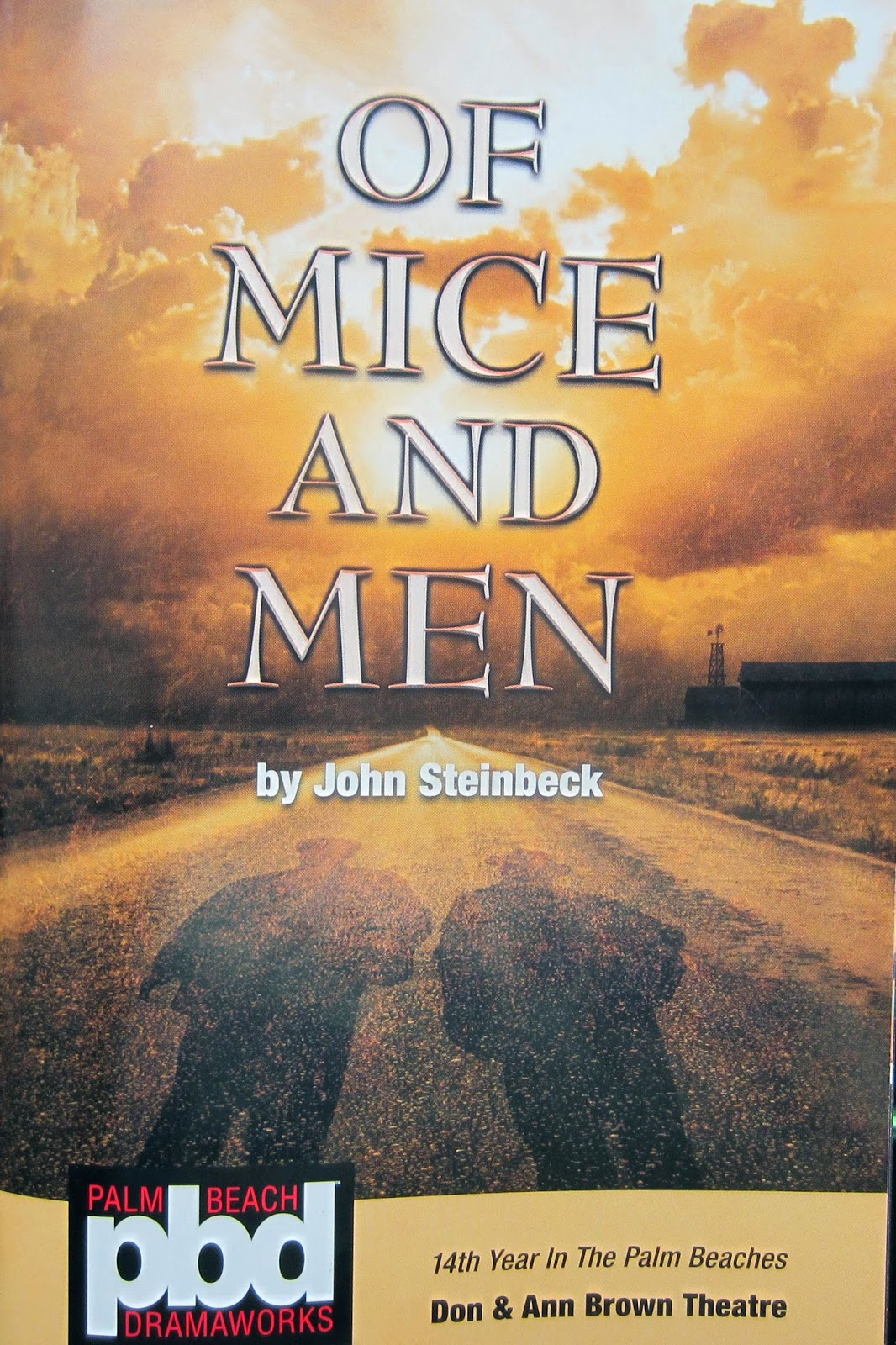 Lacunae Musing Of Mice And Men Dramaworks Bold Production