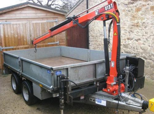 Anhänger Mit Kran Ebay Scam Hunter: Ifor Williams Lm106 Trailer Fitted With