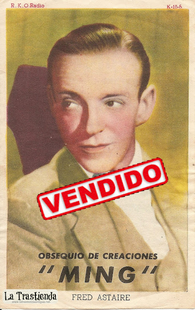 Retrato antiguo de Fred Astaire