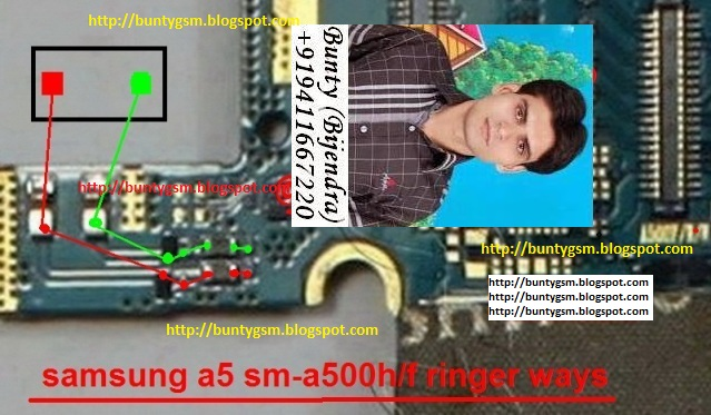 Samsung SM-A500H Ringer Ic Problem Ways Speaker Jumper