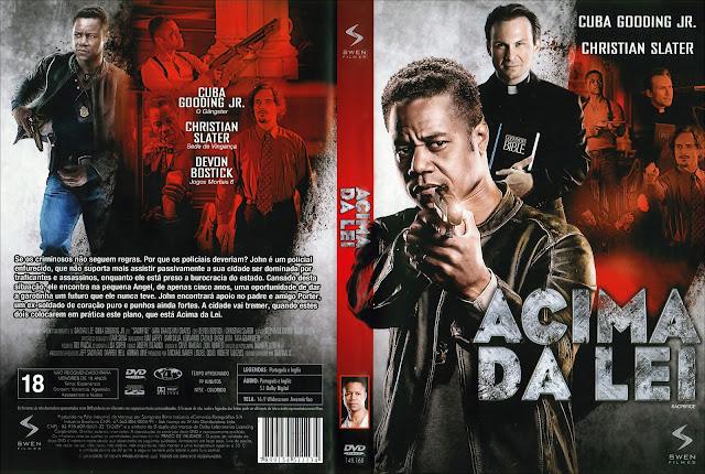 Capa DVD Acima da Lei