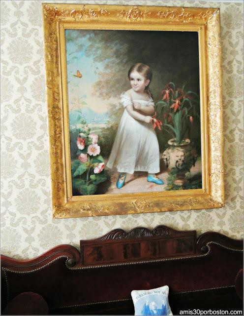 Retrato de Elizabeth en la Doble Sala de Estar de la Mansión Ropes, Salem