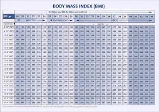 Free bmi chart download