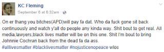 blacks hate cops