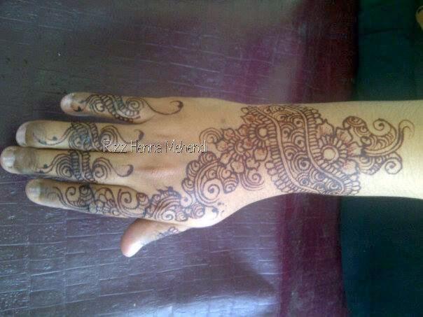 Rizz Henna Mehendi Jakarta Contoh Fun Henna Cocok Untuk Kondangan