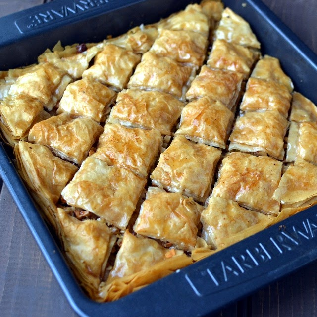 Homemade Turkish Baklava