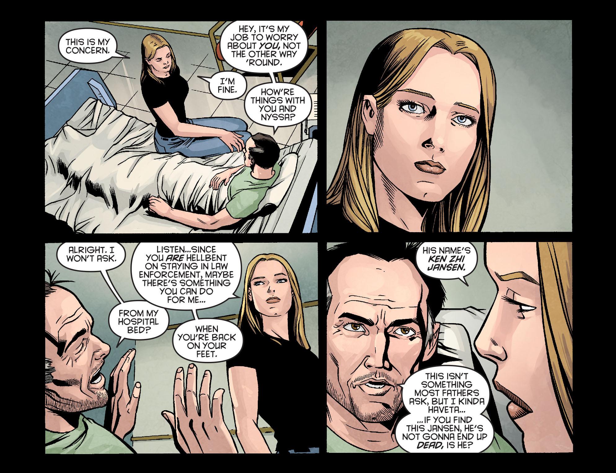 Read online Arrow: Season 2.5 [I] comic -  Issue #9 - 16
