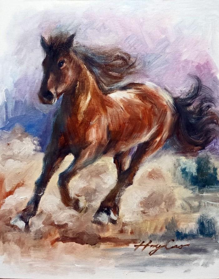 Профессиональный американский художник. Henry Cao