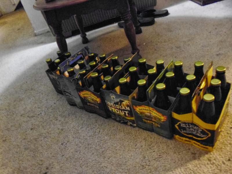 Pale Ale bottled