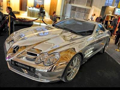 Carro de prata Dubai