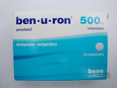 Ben-u-ron® comprimidos dosagem