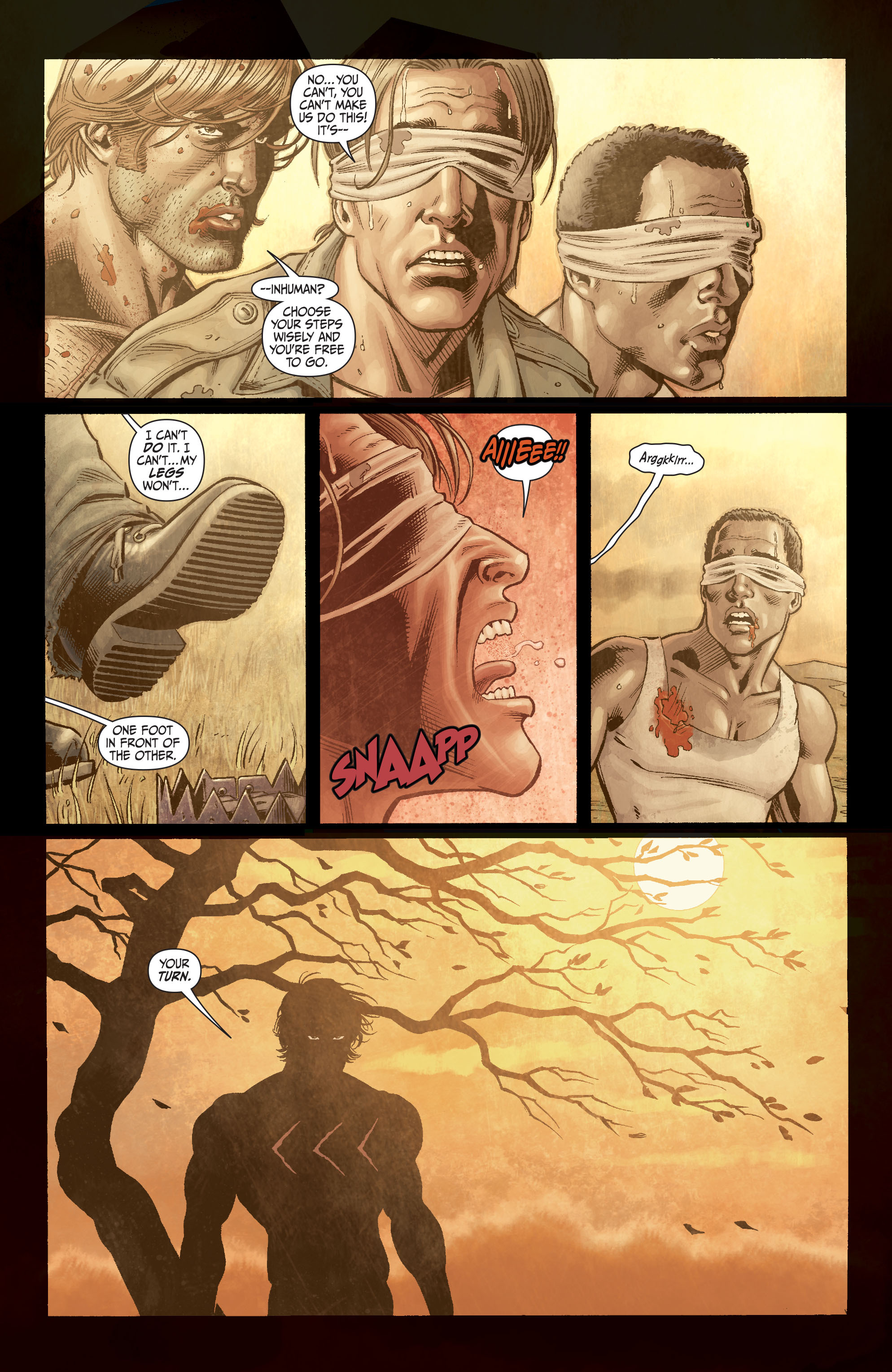 Read online Secret Six (2008) comic -  Issue #3 - 12