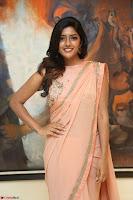 Eesha Rebba in beautiful peach saree at Darshakudu pre release ~  Exclusive Celebrities Galleries 021.JPG