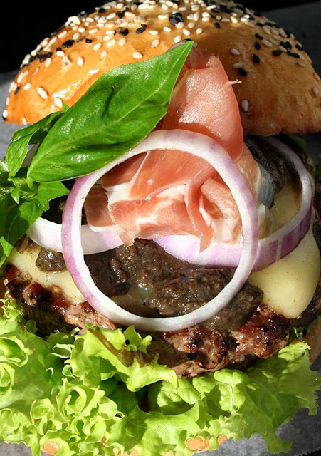 Premium Wagyu Burger Creations at Village Tavern Monte Carlo