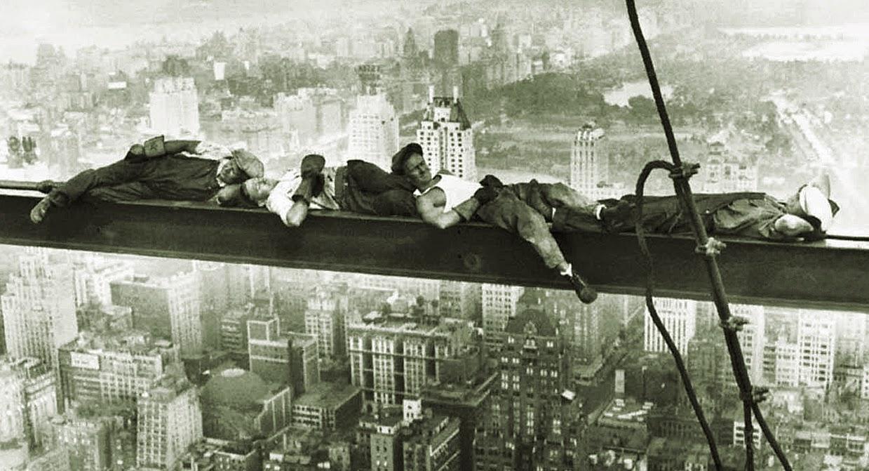 trabajadores Rockefeller Center, 1937