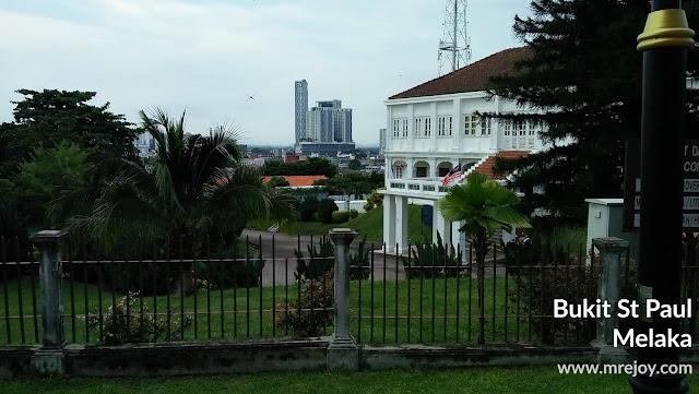 Apa yang ada dekat atas bukit st paul Melaka