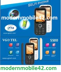 VgoTel S500 MTK6261 Flash File  Firmware