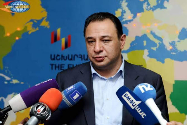 El director del Fondo Armenio Hayastan es liberado bajo fianza
