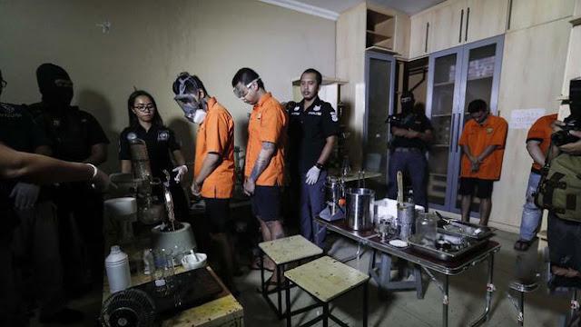 Sindikat Pengedar Narkoba Jenis Vape Cair Berhasil Dibekuk Satuan Petugas Mabes Polri