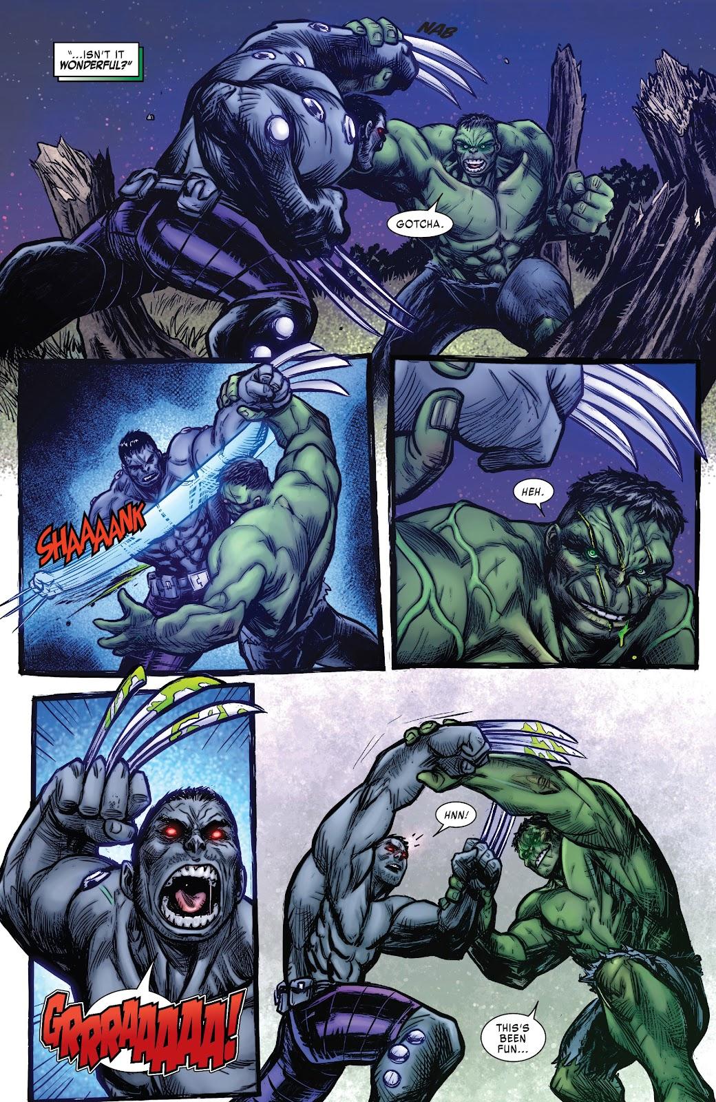 Read online Hulkverines comic -  Issue #1 - 21