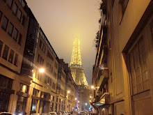 La Tour Eiffel in early January